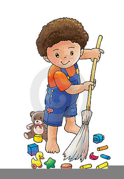 child sweep clipart free images at clkercom vector