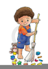 Child Sweep Clipart Image