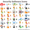 Security Software Icons Image