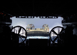 Lcac Returns From Mission Ashore Image