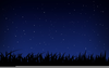 Blue Stary Background Clipart Image