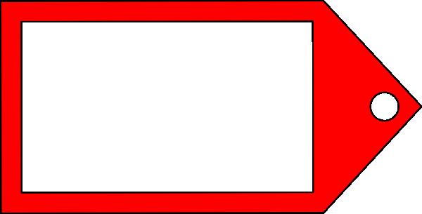Red Tag Clip Art at Clker.com - vector clip art online ...