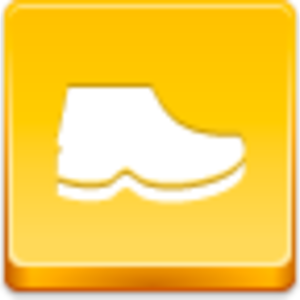 Free Yellow Button Boot Image