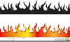 Fire Page Border Clipart Image