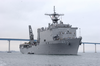 Uss Germantown (lsd 42)  Makes Wake In San Diego Image