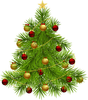 Animated Christmas Trees Clipart Image