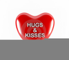 Clipart Hugs And Kisses Image