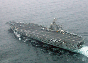 Uss Washington Transits The Arabian Sea Image