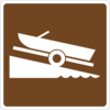 Boat Launch Sign Clip Art