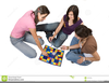 Free Clipart People Playing Board Games Image