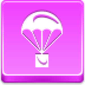 Free Pink Button Parachute Image