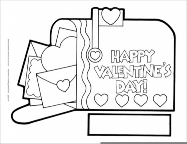 Valentines Day Clipart Black And White Free Images At Clker Com