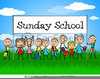 Free Clip Art Sunday School Clipart Image