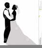 Free Clipart Bride And Groom Silhouette Image