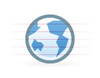 Blockie Earth Image