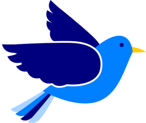 blue bird clip art at clker com vector clip art online royalty rh clker com