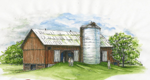Barn Drawing Image