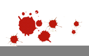 free blood splatter clipart free images at clker com vector clip rh clker com