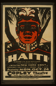 Haiti  A Drama Of The Black Napoleon By William Du Bois : With The New York Cast. Image
