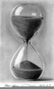 Hourglass Pencil Drawing Image