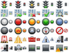 Standard Road Icons Image