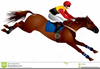 Horse Race Track Clipart Image