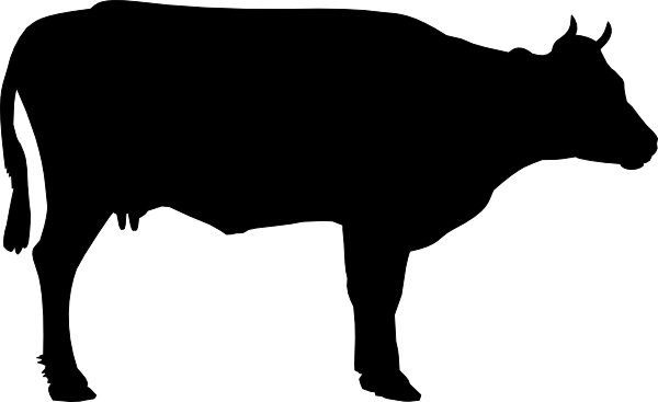 cow clipart simple - photo #37