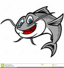 Free Clipart Of Catfish Image