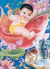 Chinese Baby Drawing Image