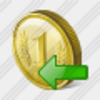 Icon Coin Import Image
