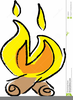 Campfire Free Clipart Image