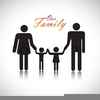 Father And Daughter Holding Hands Clipart Image