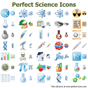 Perfect Science Icons Image
