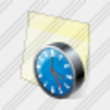 Icon Sticker Clock Image