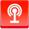 Free Red Button Icons Podcast Image