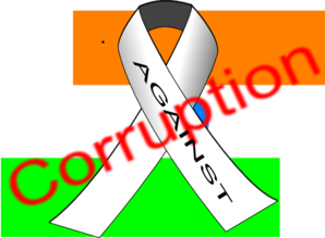 India Against Corruption Clip Art