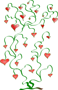 Tree Of Hearts Clip Art