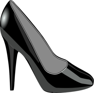 shiny shoe for my sister clip art at vector. Black Bedroom Furniture Sets. Home Design Ideas