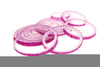 Onions Slices Clipart Image