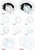 Luffy Drawing Tutorial Image