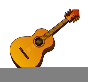 Free Clipart Of A Guitar Free Images At Clker Com Vector Clip