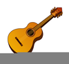 Free Clipart Of A Guitar Image