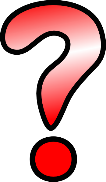 question marks clipart - photo #34