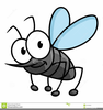 Royalty Free Mosquito Clipart Image
