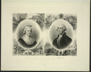 Washington And His Wife Image