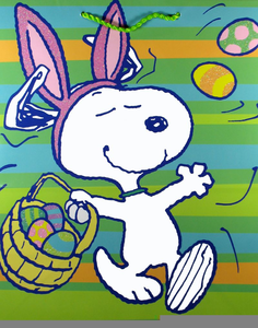 Easter snoopy. Free clipart images at