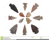 Free Indian Arrowhead Clipart Image