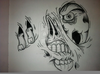 Zombie Tattoos Drawings Image