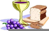 Free Clipart Communion Bread And Wine Image
