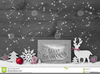 Christmas Card Clipart Black And White Image